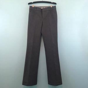 Banana Republic Sloan Fit Gray/Black Bootcut Pant